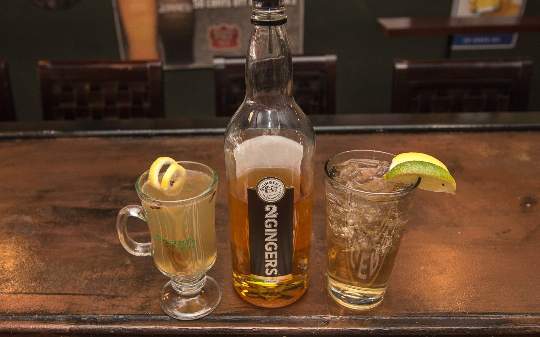 Whiskey and Beer of the month is 2 Gingers and Strongbow